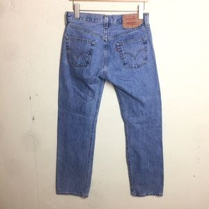 Levi's 501 VTG Button Fly Straight Jeans 30 x 32
